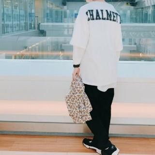 ニコアンド(niko and...)の○新品○ niko and… ニコアンド バックロゴワイドTシャツ(Tシャツ(半袖/袖なし))