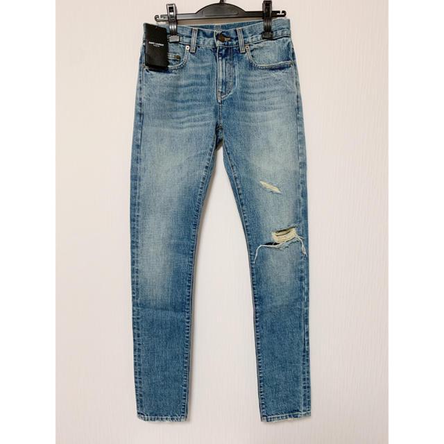 Saint Laurent(サンローラン)の【新品】サンローラン クラッシュデニム 28サイズ メンズのパンツ(デニム/ジーンズ)の商品写真