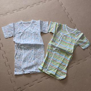 西松屋 - 新生児用 肌着 夏用 2枚セット