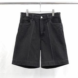 SUNSEA - 今期 19ss URU ウル denim shorts デニムショーツ ブラック