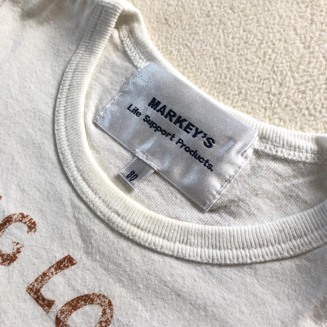MARKEY'S(マーキーズ)のベビー キッズ Tシャツ キッズ/ベビー/マタニティのベビー服(~85cm)(Tシャツ)の商品写真