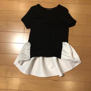 バーニーズニューヨーク(BARNEYS NEW YORK)のYOKO CHAN Tシャツ 36(Tシャツ(半袖/袖なし))