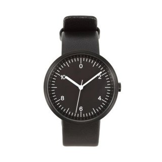 ムジルシリョウヒン(MUJI (無印良品))の無印良品 腕時計 Wall Clock 黒 (腕時計)