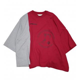 ジエダ(Jieda)のアシンメトリーTシャツ(Tシャツ/カットソー(半袖/袖なし))
