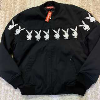 Supreme - Supreme Playboy Crew Jacket 黒L