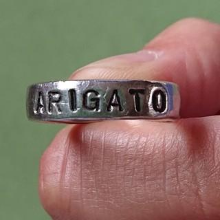 オクラ(OKURA)のOKURA リング[ARIGATO](リング(指輪))