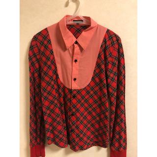 ミルクボーイ(MILKBOY)のMILK BOY 赤チェック シャツ(シャツ)