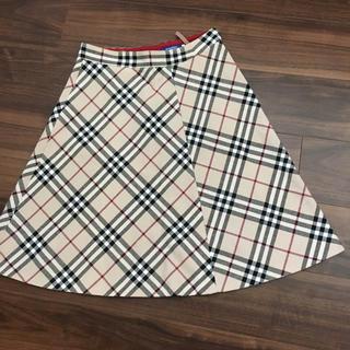 バーバリーブルーレーベル(BURBERRY BLUE LABEL)のバーバリー ブルーレーベル 38  スカート(ひざ丈スカート)