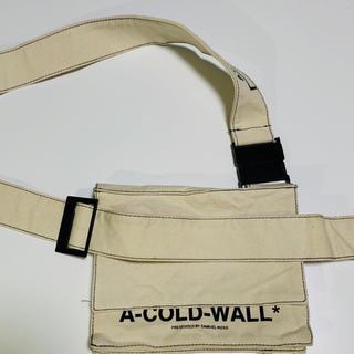 オフホワイト(OFF-WHITE)のA-COLD-WALL  ショルダーバック(ショルダーバッグ)