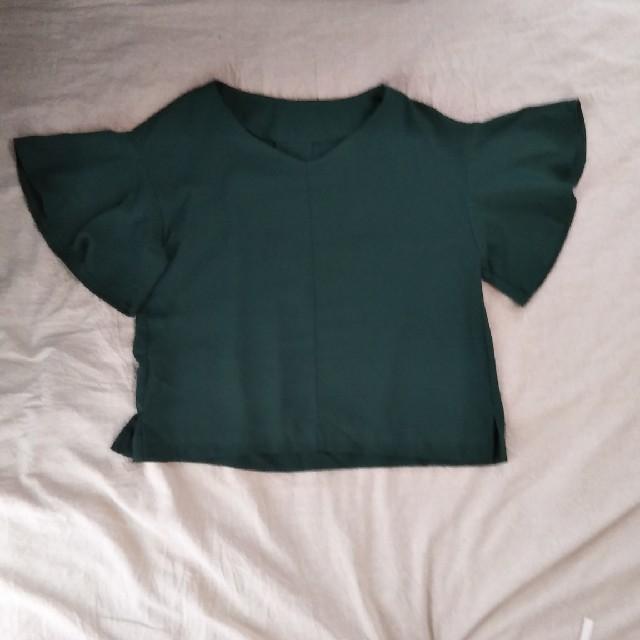 GU(ジーユー)のGU  カットソー レディースのトップス(カットソー(半袖/袖なし))の商品写真