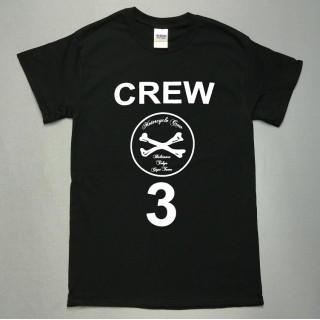 ストリート系ロゴ☆ドクロ☆crew3☆半袖Tシャツutn204(Tシャツ/カットソー(半袖/袖なし))
