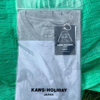ホリデイ(holiday)のkaws holiday 日本 会場限定 グレー Tシャツ(Tシャツ/カットソー(半袖/袖なし))