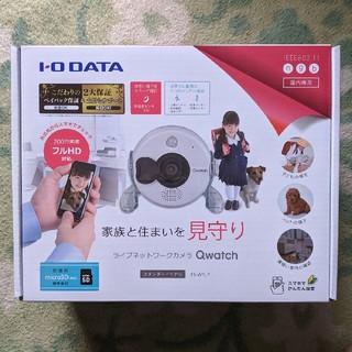 アイオーデータ(IODATA)のIO DATA ネットワークカメラ Qwatch TS-WRLP 新品未開封(防犯カメラ)