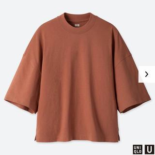 UNIQLO - ユニクロ オーバースクエアTシャツ