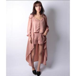 エイミーイストワール(eimy istoire)の【eimy istoire】vintage satin gown(カーディガン)