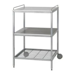 イケア(IKEA)の7/26までの出品 IKEA ステンレスワゴン UDDEN(キッチン収納)