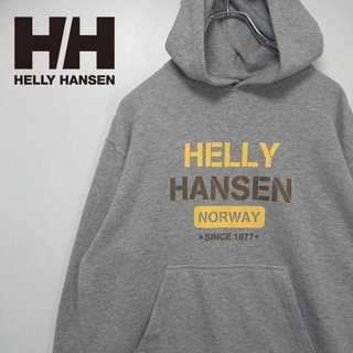 ヘリーハンセン(HELLY HANSEN)のHELLY HANSEN デカロゴ パーカー ゴールドウィン 柔らか生地 286(パーカー)