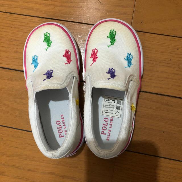 Ralph Lauren(ラルフローレン)のラルフローレン スニーカー 13cm キッズ/ベビー/マタニティのベビー靴/シューズ(~14cm)(スニーカー)の商品写真
