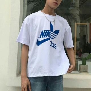adidas - おもしろTシャツ ナキダス NIKE adidas ナイキ アディダス XL