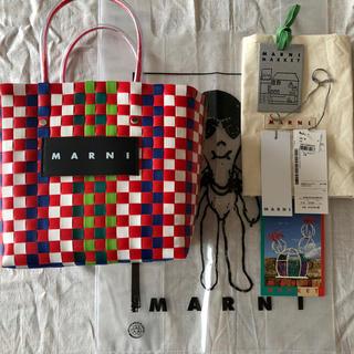 Marni - MARNI マルニフラワーカフェ ピクニックバッグ