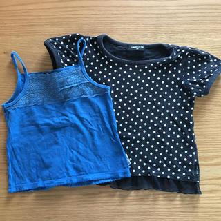 コムサイズム(COMME CA ISM)のコムサイズム90Tシャツとキャミソール(Tシャツ/カットソー)