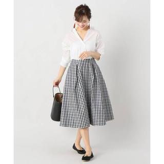 IENA - 【完売品】IENA Pe/Coギンガムスカート