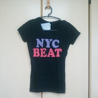 マウジー(moussy)の新品未使用 マウジー ロゴTシャツ 黒 moussy NYC(Tシャツ(半袖/袖なし))