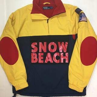 ポロラルフローレン(POLO RALPH LAUREN)の名作 サイズS POLO SNOW BEACH プルオーバー ラルフローレン(ブルゾン)