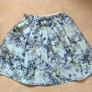花柄スカート 160 双子ちゃんもオススメ ①