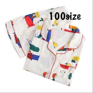 【新品】パジャマ 部屋着  セットアップ  スヌーピー 100  韓国子供服