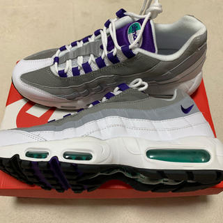 NIKE - 新品未使用 NIKE WMANS AIR MAX 95 grape 29cm