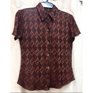 フェンディ(FENDI)のフェンディ  シャツ 伊製 18601906(Tシャツ(半袖/袖なし))