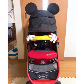 ディズニー(Disney)のグレコベビーカー ミッキーデザイン(ベビーカー/バギー)