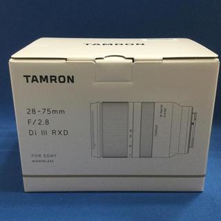 TAMRON - 新品未開封 タムロン A036SF 28-75mm F/2.8 ソニーEマウント