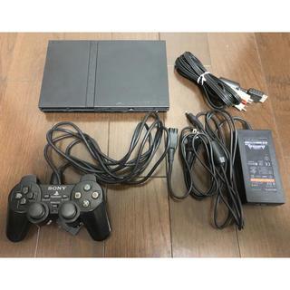 プレイステーション2(PlayStation2)の【送料無料】プレイステーション2本体 薄型 SCPH-7000(家庭用ゲーム本体)
