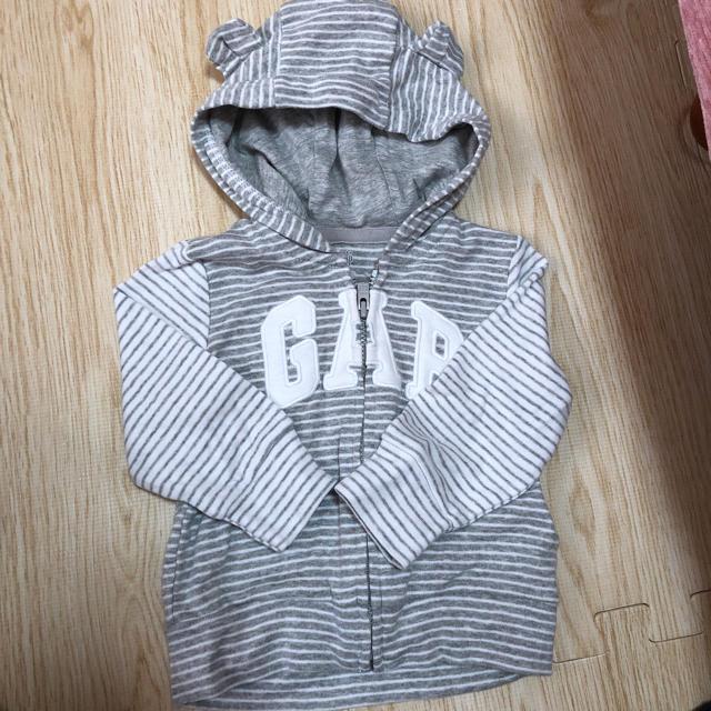babyGAP(ベビーギャップ)のGAP*パーカー キッズ/ベビー/マタニティのベビー服(~85cm)(トレーナー)の商品写真