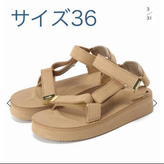 DEUXIEME CLASSE - ドゥーズィエムクラス SUICOKE SUEDE SANDAL 36