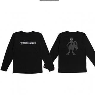 FRAGMENT - ポケモン  ミュウツー ロンT Tシャツ サンダーボルトプロジェクト
