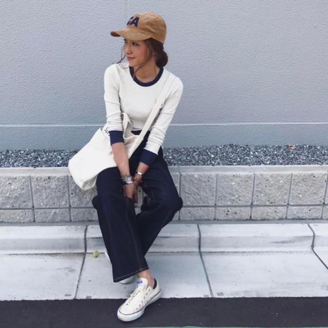 TODAYFUL(トゥデイフル)の最終値下げ CANAL JEANキャナルジーン パイピングロンT レディースのトップス(Tシャツ(長袖/七分))の商品写真