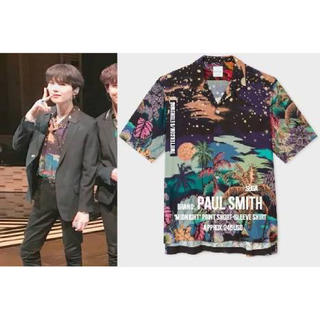 Paul Smith - paul smith 2018ss アロハシャツ BTS suga 着用