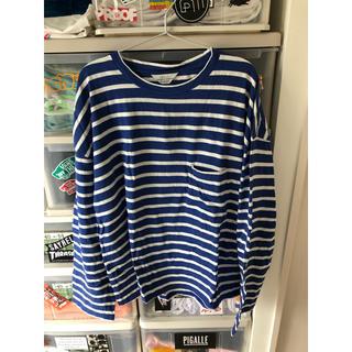 アンユーズド(UNUSED)のunused ボーダーL/S(Tシャツ/カットソー(七分/長袖))