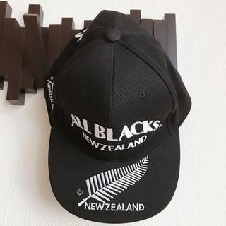 新品 ALL BLACKS オールブラックス キャップ