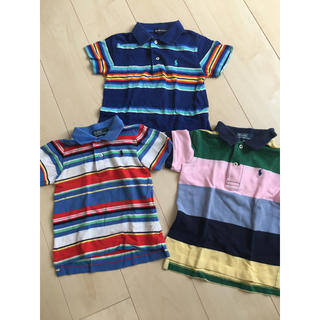 ポロラルフローレン(POLO RALPH LAUREN)の値下げ ポロ ラルフローレン ポロシャツ 80 90 3枚セット(その他)