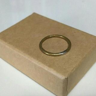 真鍮 リング 指輪(リング(指輪))