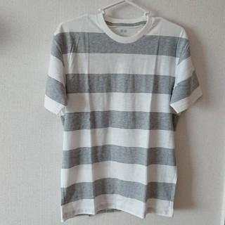 UNIQLO - UNIQLOメンズボーダーTシャツ