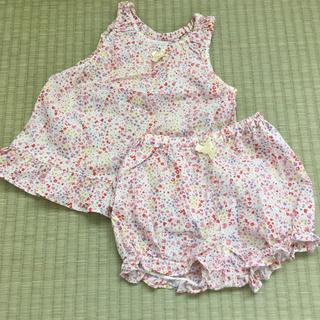 BeBe - べべ 夏服 上下セット 女の子