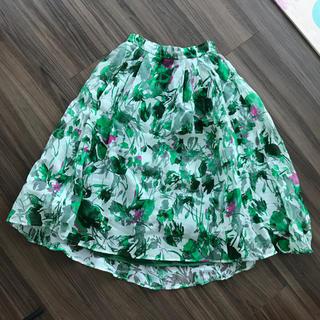 フレイアイディー(FRAY I.D)の花柄スカート(ロングスカート)
