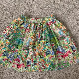 ドアーズ(DOORS / URBAN RESEARCH)のアーバンリサーチ 花柄スカート サイズ120(スカート)