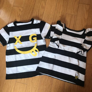 X-girl Stages - エックスガール♡双子♡Tシャツ♡セット