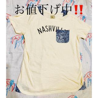 ペイズリー柄Tシャツ(Tシャツ(半袖/袖なし))